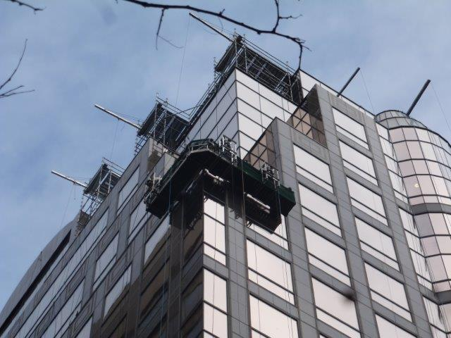Curtain Wall Shims : Maxim group building envelope repairs