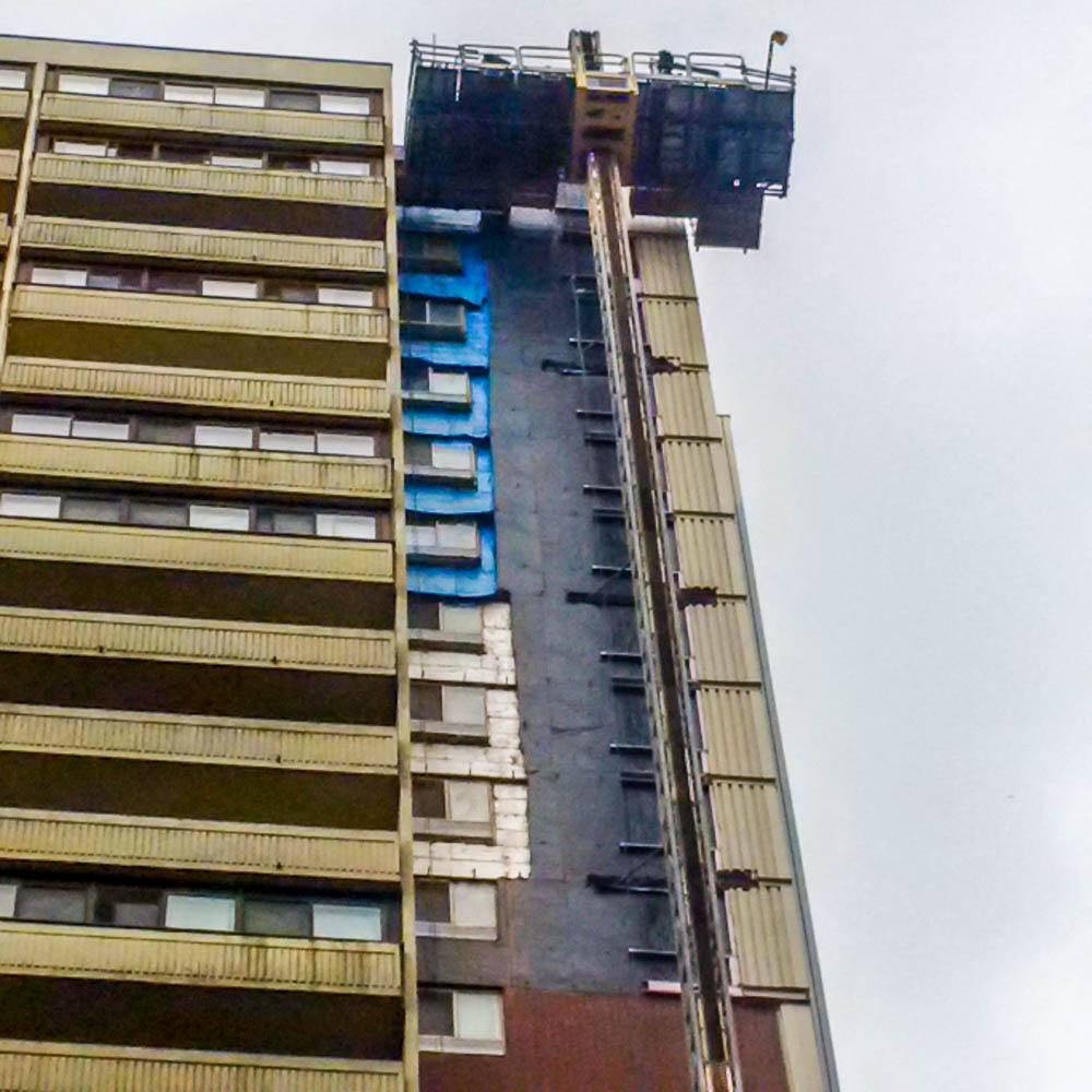 Maxim Group Building Restoration Company Toronto Walls