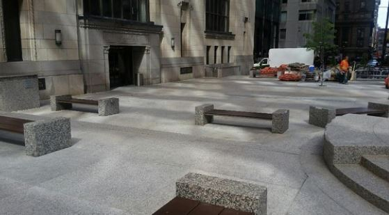 Commerce Court Bay St – Waterproofing Tree Pits Under Granite Pavers